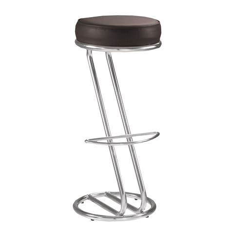 Lot De 2 Tabourets De Bar Chaise Haute De Bar Zeta Noir
