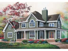 country farmhouse plans with wrap around porch manning country farmhouse plan 032d 0599 house plans and more