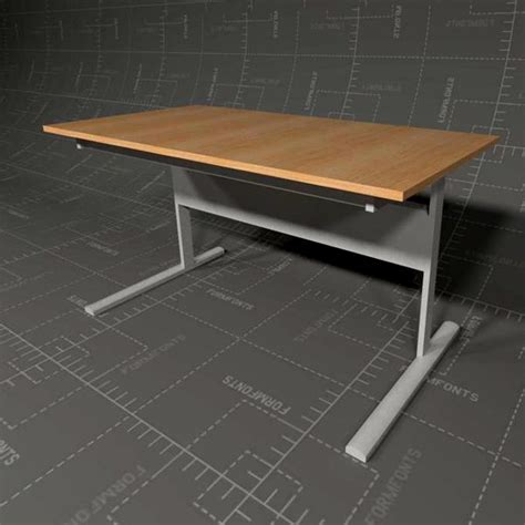 Ikea Fredrik Desk Size by Ikea Fredrik Desk 3d Model Formfonts 3d Models Textures