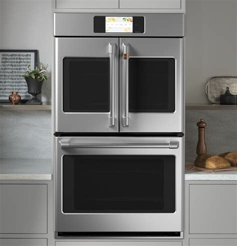 ctdfpns cafe   double french door oven convection stainless steel