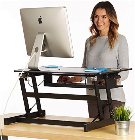 raised desk for standing the house of trade standing desk height adjustable sit to