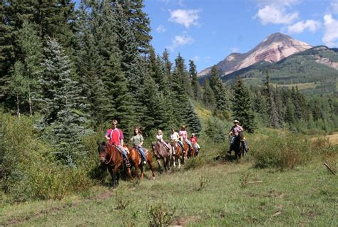 durango riding horseback colorado place vacation magical forest donkeys wilderness tourism horses