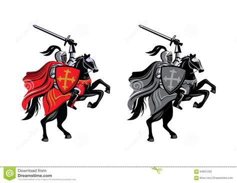 knight horse logo design