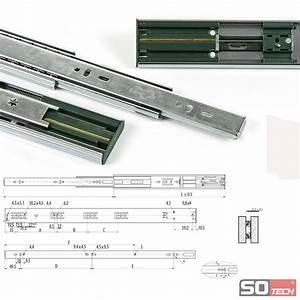Soft Close Schublade : so tech vollauszug soft closing 45 kg auszug schubladenauszug teleskopschiene ebay ~ Orissabook.com Haus und Dekorationen