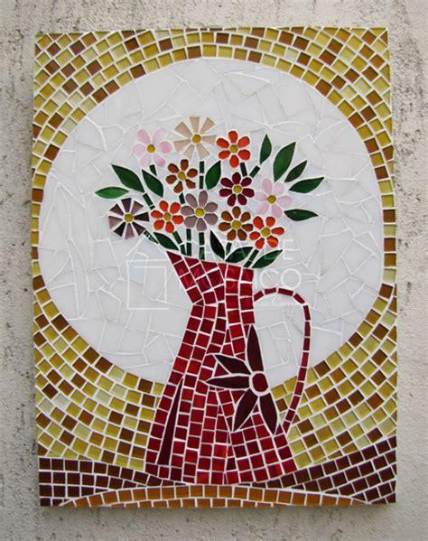 plantillas para hacer mosaicos flores o da casa de mosaico