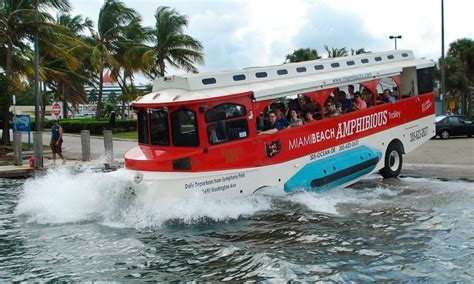 Boat Tour Groupon by Duck Boat Tour Miami Pirate Duck Tours Groupon