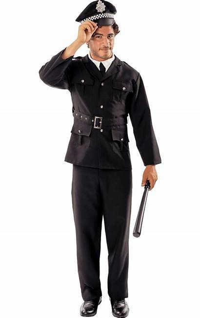 Police Costume Uniform Outfit Cop Officer Policeman