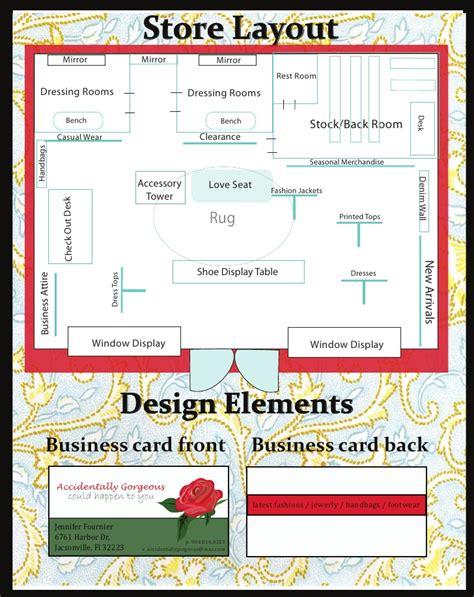 store planogram  business cards