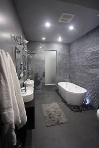 Badezimmer Fliesen Grau : badezimmer fliesen 2015 in grau mit verschiedenen texturen badezimmer pinterest badezimmer ~ Sanjose-hotels-ca.com Haus und Dekorationen