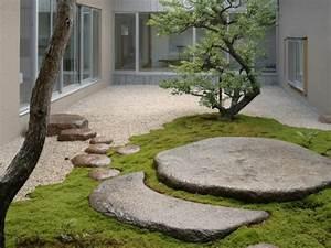 Gartenideen Mit Steinen : gartengestaltung mit kies und steinen 25 gartenideen f r sie ~ Indierocktalk.com Haus und Dekorationen