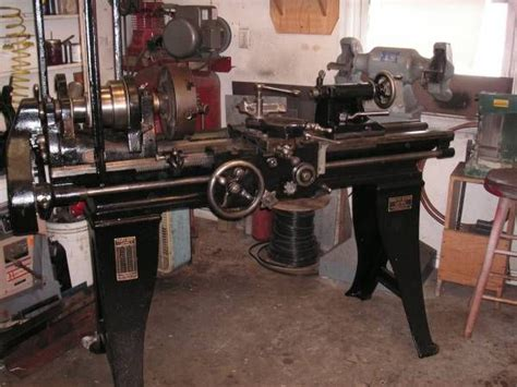 photo index south bend lathe works    foot lathe