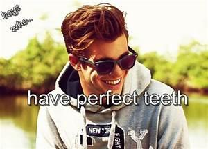 perfect teeth on Tumblr