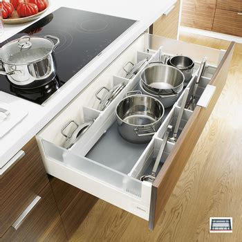 pot  pan storage kitchen pan drawer dividers pot lid storage