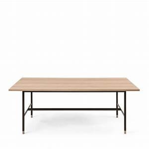 Table à Manger Bois Et Métal : table manger bois et m tal jugend by drawer ~ Teatrodelosmanantiales.com Idées de Décoration