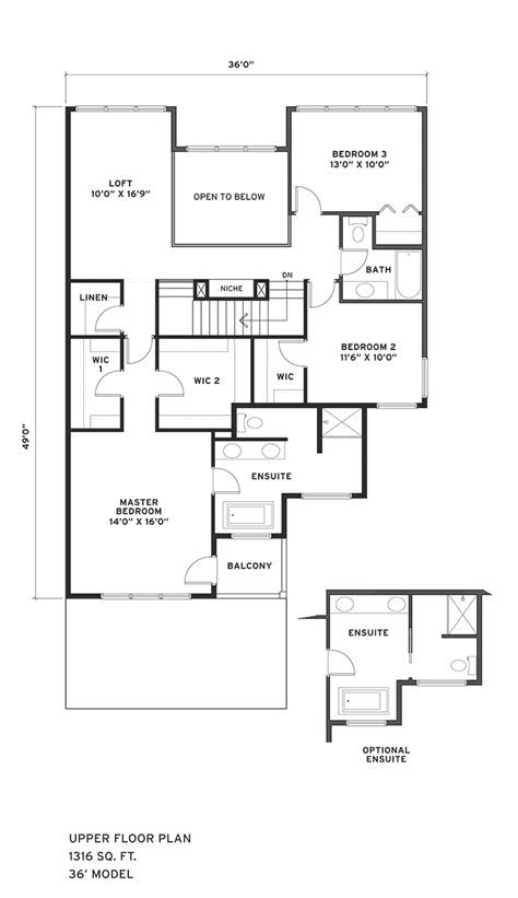 Sage Meadows ? Aster Floor Plans   Calgary and Airdrie, AB