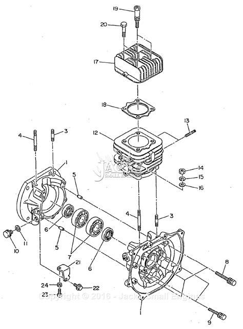 Robin Subaru Bomag Parts Diagram For Crankcase