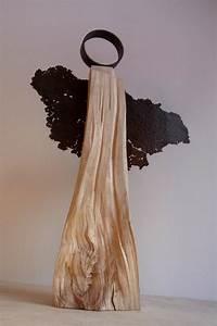 Weihnachtsbasteln Aus Holz : eleganter engel aus holz und stahl die anmut des wesens in der kombination mit den ~ Orissabook.com Haus und Dekorationen