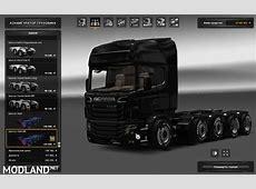 Scania illegal V8 Reworked V30 124 mod for ETS 2