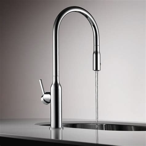 KWC Sin Pull Out Kitchen Tap   10 261 002