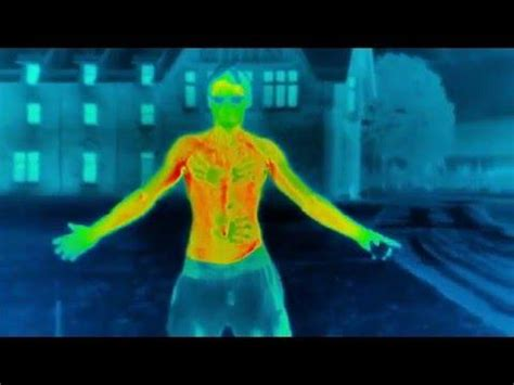 thermal imaging camera shows  quickly humans lose
