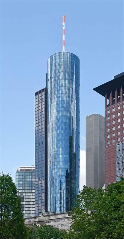 Frankfurt Tower Maintower Germany Rhein Torre Meno