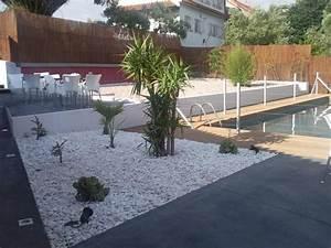 Cailloux Blanc Pas Cher : idee d co jardin galet blanc ~ Dailycaller-alerts.com Idées de Décoration