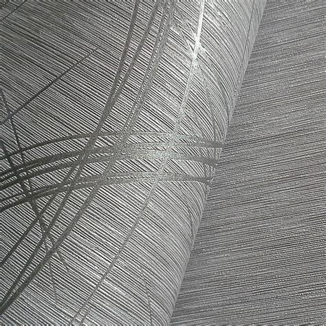 Tapeten Metallic Look by Edem 1020 10 Designer Tapete Gestreifte Struktur Metallic