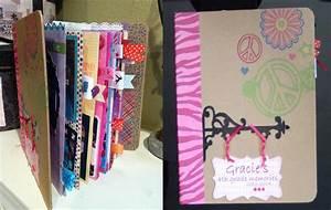 How to make a school mini scrapbook album