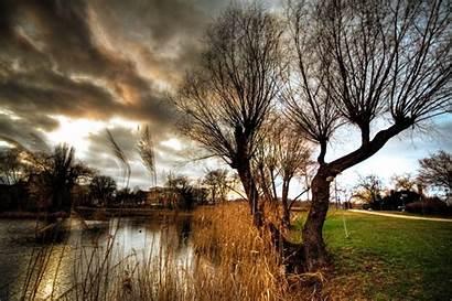Scenery Evening Werder Commons Wikimedia Wikipedia