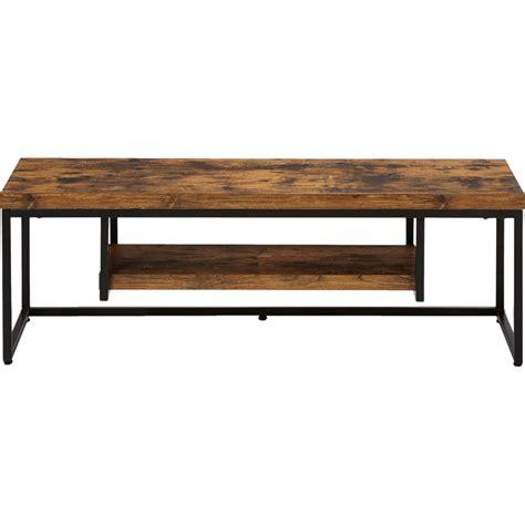alinea meuble tv meuble tv effet bois et acier manille meubles tv alinea