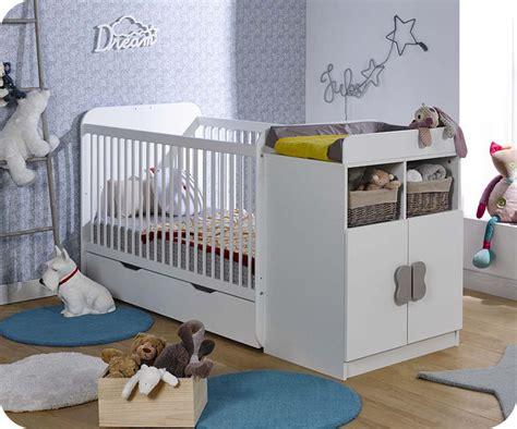 chambre bébé fabrication lit bébé évolutif blanc chambres de fabrication