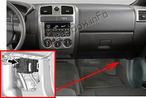 Fuse Box Diagram  U0026gt  Chevrolet Colorado  2012