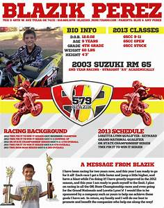 motocross sponsorship mxm nation With free mx resume templates