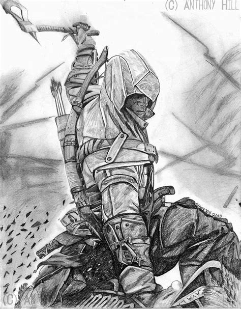 Cool Assassins Creed Drawings Assassin S Creed 3 By