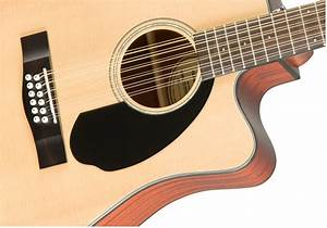 Fender Cd-60sce-12 Dreadnought Acoustic-electric Guitar