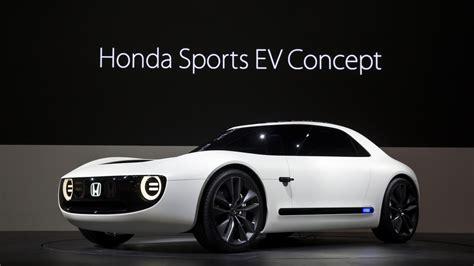 Honda Future Cars by Honda Unveils A New Sports Ev Concept Car At The Tokyo