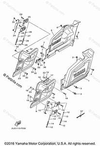 Yamaha Side By Side 2015 Oem Parts Diagram For Side Cover 2