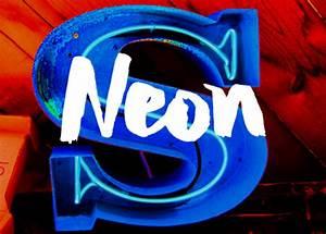 Neon Type Type Camp
