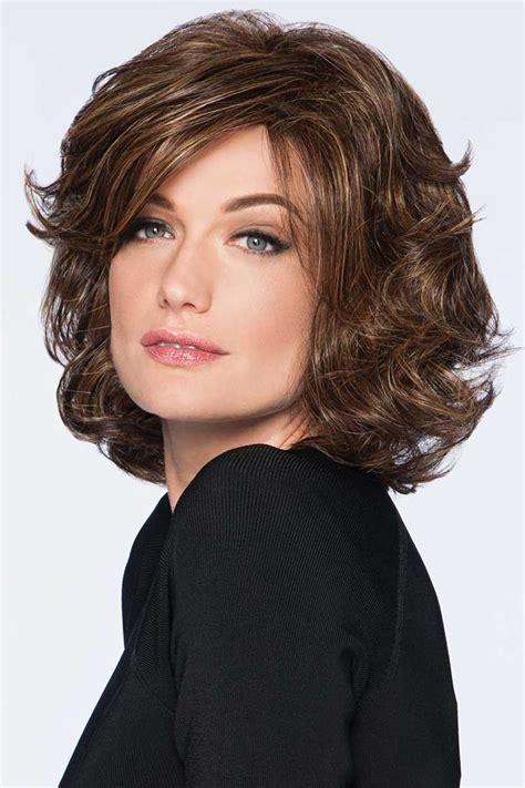 modern flair  hairdo wigs cortes de cabello medium