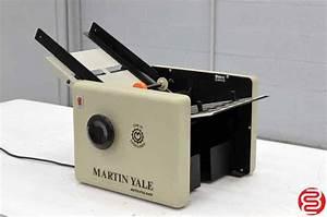 martin yale 1501 cv7 paper folder boggs equipment With martin yale letter folder
