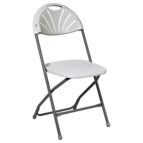 4 pk fan back folding chairs office products