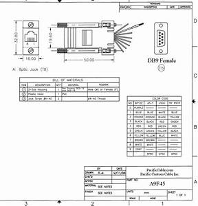 Rs232 wiring color code wiring solutions for Panel wiring diagram rj45 plug wiring diagram home work wiring diagram