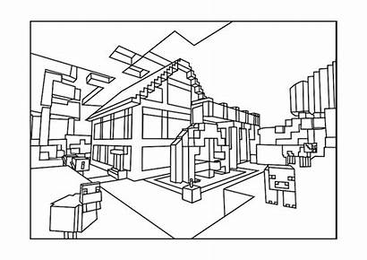 Minecraft Coloring Pages Printable Children Phenomenal Roblox