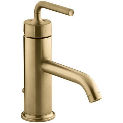 kohler purist single hole bathroom sink faucet
