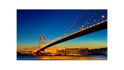 Gate Bridge Golden Francisco San Night California