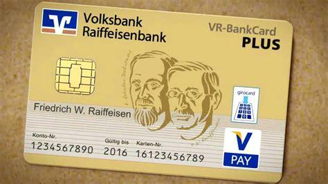 vr bankcard  vorteile der goldenen bankkarte youtube