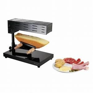 Appareil Raclette Pierrade : domoclip doc159 appareil raclette traditionnel noir ~ Premium-room.com Idées de Décoration