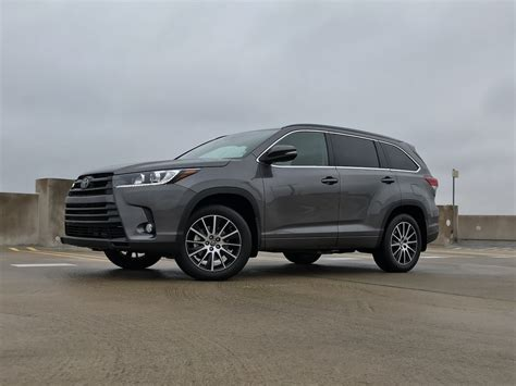 Toyota Highlander Reviews by 2018 Toyota Highlander Se Awd Test Drive Review