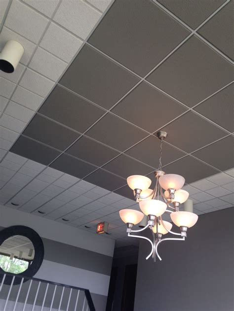 Gray Drop Ceiling Tiles by The 25 Best Drop Ceiling Tiles Ideas On