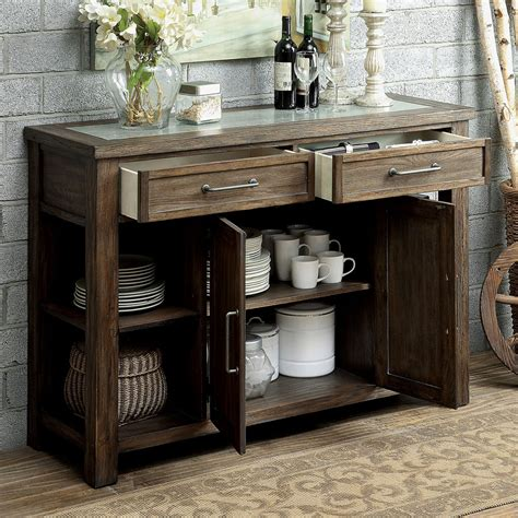 oak cabinets in kitchen colettte countryside dining server buffet cabinet rustic 3562